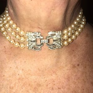 Jewelry - FINAL PRICE......PEARL CHOKER NECKLACE